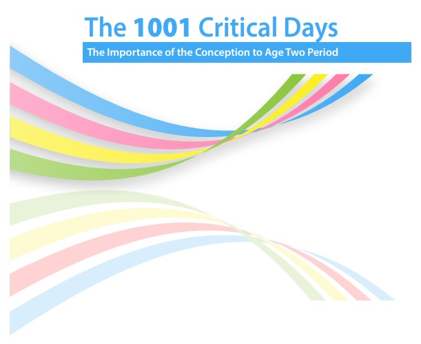 "Sostenibilidad - Manifiesto ""The 1001 Critical Days. The Importance of the Conception to Age Two Period"""